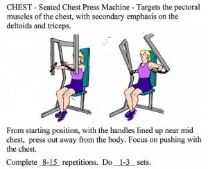 chest presses