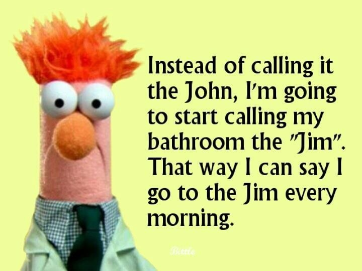 Humpday humor for the creatively lazy happy and - Beaker muppets quotes ...